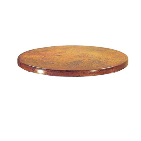 copper instincts hammered copper table top 36 quot thcr4