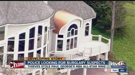 paul george house police release surveillance photos of burglars from pacers