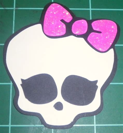 leighs creations monster high skull svg scut2