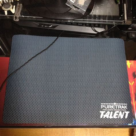 Mousepad Puretrak Talent puretrak talent professional gaming mouse pad chocolate