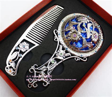 Sisir Tembaga cermin tangan beli murah cermin tangan lots from china