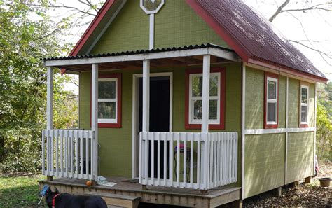 tiny house for two 192 square foot home for two small house living tour in