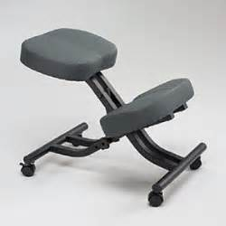 knee sit backless chair