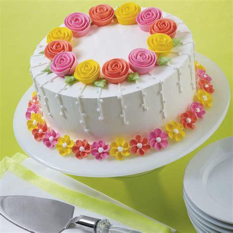 design flower cake fanciful flowers cake wilton