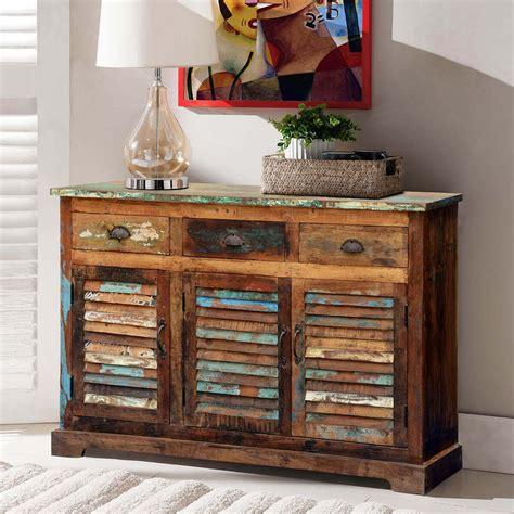 appalachian summer shutter door reclaimed wood  drawer sideboard   reclaimed wood