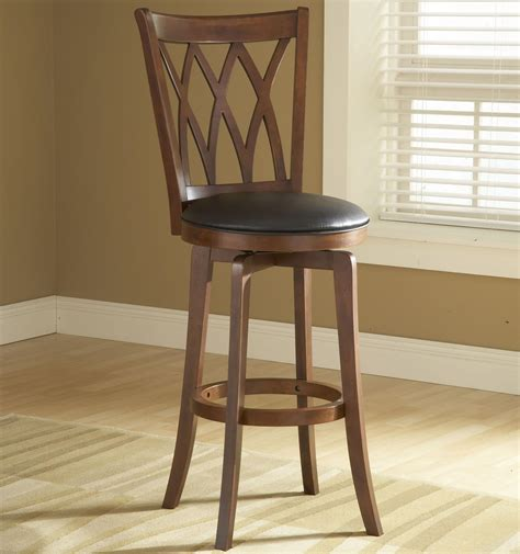 Counter Height Swivel Stool by Wood Stools 24 Quot Counter Height Mansfield Swivel Stool By
