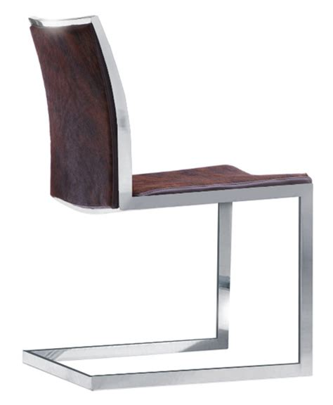 best brilliant cowhide dining chair intended for home plan