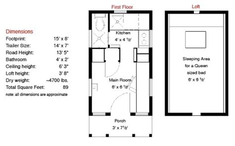 Home Floor Plans With Estimated Cost To Build by The Epu Tiny House From Tumbleweed And Jay Shafer