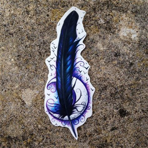 raven feather tattoo designs best feathers products on wanelo