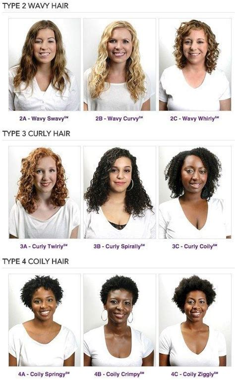 Different Types Of Hair Salons by 25 Best Curly Hair Types Trending Ideas On