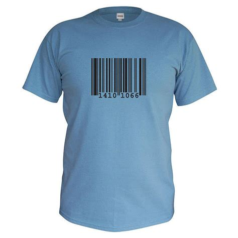 T Shirt Barcode s personalised barcode t shirt by primitive state