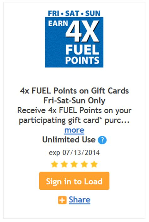 Kroger Gift Cards 4x Fuel Points - kroger 4x fuel points when you buy gift cards kroger krazy