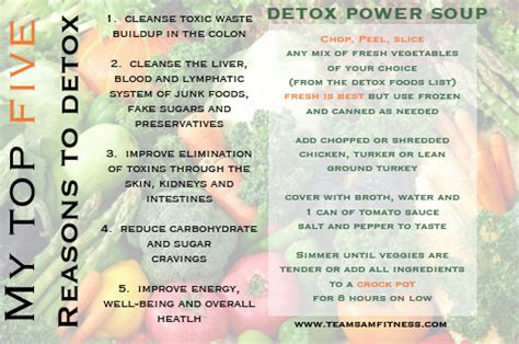 Why Detox Is So Important by What Is Detox And Why It S Important Teamsam Fitness