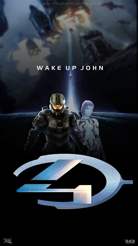 Halo 4 Poster Kayu 30x22 halo 4 poster by danyvaderday on deviantart