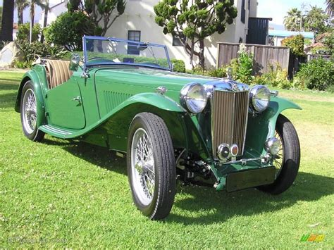 green 1948 mg tc roadster exterior photo 12550836