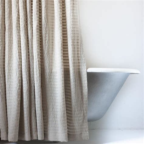 greige curtains greige fabric shower curtain in extra long sizes emily