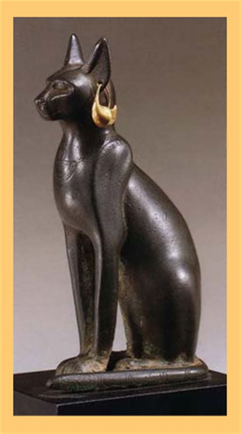 imagenes de esculturas famosas egipcias los gatos sagrados de los egipcios hogar de paso gatoloco