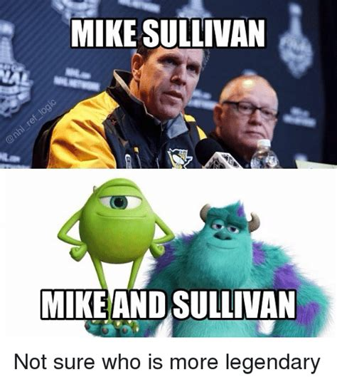 Who Is This Meme - mike sullivan mike and sullivan not sure who is more
