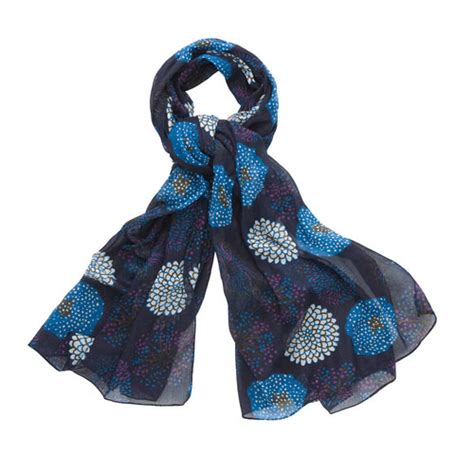 marimekko navy halimeda scarf marimekko scarves ties