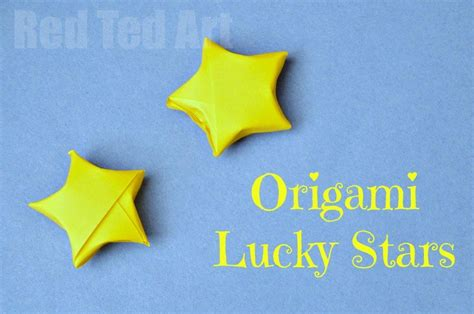 Origami Lucky - origami lucky so easy to make with these step by