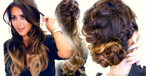 half updo bun hairstyles 2 spring braid hairstyles cute half updo messy bun