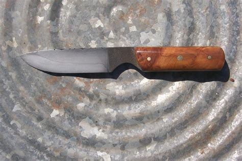 knives from files burl hamon filework file knife all about pocket knives