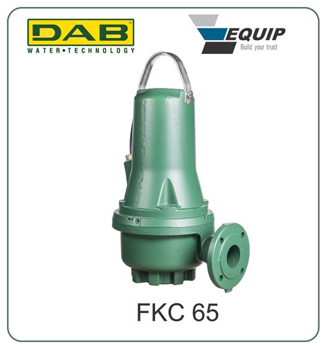 Submersible Dab sewage and sludge submersible pumps