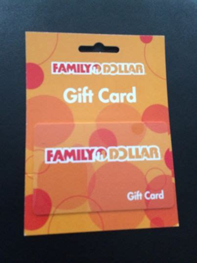 Gift Cards For Families - 25 family dollar gift card giveaway closed
