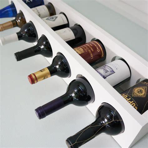 Diy Rack Shelf by 14 Easy Diy Wine Rack Plans Guide Patterns