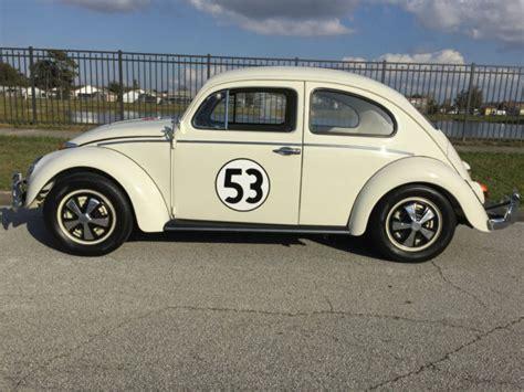 volkswagen beetle classic herbie 1963 vw bug classic beetle herbie tribute great florida