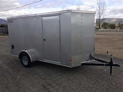 current inventory utility single axle used 6x12 utility trailer wgate 2017 haulmark 3000 series 6x12 single axle enclosed