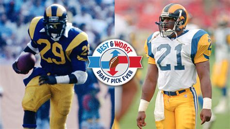 rams draft history st louis rams best and worst draft picks nfl