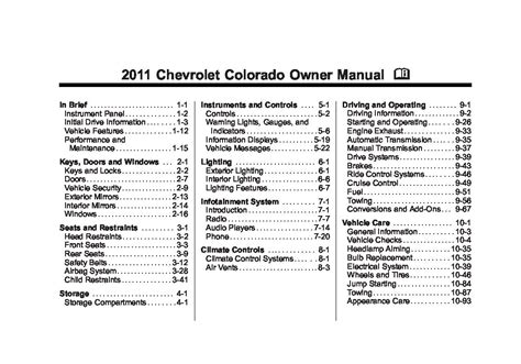 electric and cars manual 2011 buick lucerne user handbook 2011 buick lucerne cxl owners manual