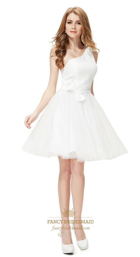 white cocktail dress white one shoulder cocktail dress white cocktail dress for