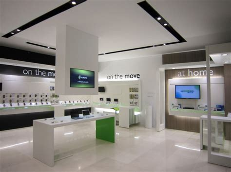 cosmote mobile store by kvb design athens greece