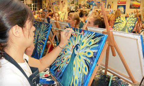 groupon paint nite byob design with wine and sassy paints in greenville sc groupon