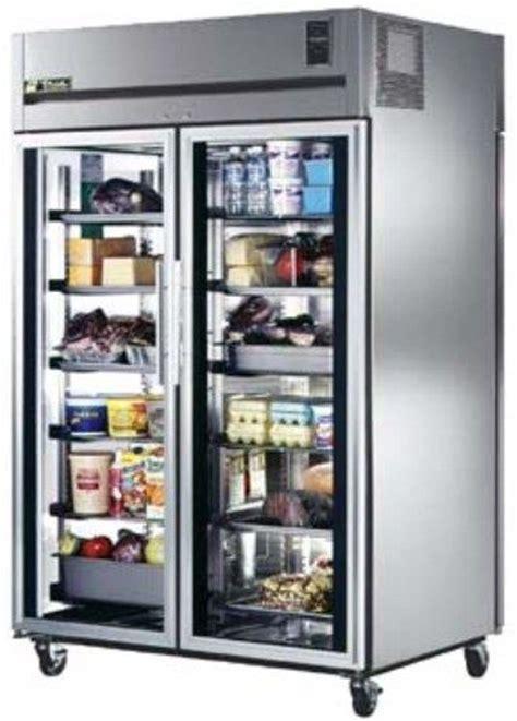 Refrigerator With Glass Front Door True Ta2rpt 2g 2s Glass Front Solid Rear Door Pass Thru Refrigerator Ta2rpt 2g 2s Ta2rpt2g2s