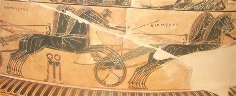vaso di francois un particolare dei giochi funebri in onore di patroclo