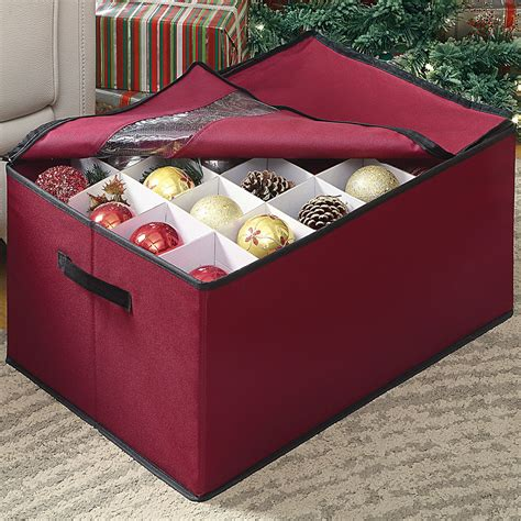 ornament storage chest in ornament storage boxes
