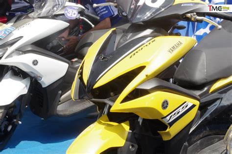 Karet Standar Tengah Yamaha Bebek 5d9 vlog intip lebih dekat yamaha aerox 155 versi balap komunitas ycr 2018 tmcblog