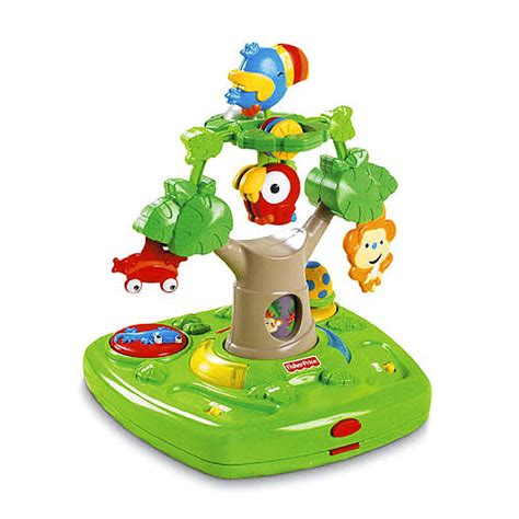 Fisher Price Rainforest Healthy Care High Chair by Fisher Price Rainforest Healthy Care High Chair High
