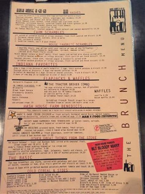 Hash House A Go Go Prices by Brunch Menu Get The Pancakes They Will Not Disappoint