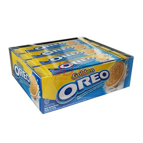 Oreo 29 4gr oreo golden vanilla 29 4gr isi 12 pack p jawa only