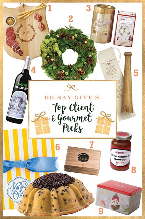 holiday gifts for clients plus some gourmet gift favorites