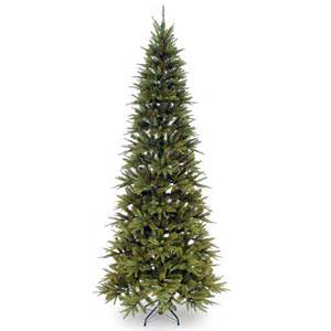 6 5ft weeping spruce slim feel real artificial christmas
