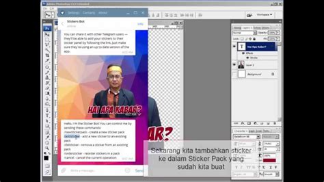 tutorial oracle database bahasa indonesia create telegram sticker tutorial bahasa indonesia youtube