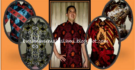 Baju Bola Sepasang busana muslim murah grosir baju batik bola serimbit murah