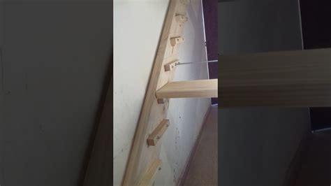 como hacer una escalera de canas c 243 mo hacer una escalera de madera