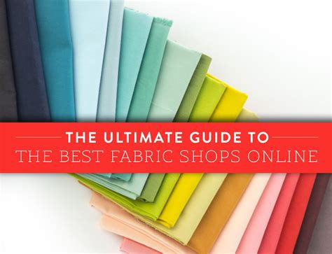 best fabric shops the ultimate guide to the best fabric shops suzy