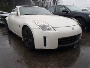 wrecked nissan 350z for sale salvage 2008 nissan 350z for sale